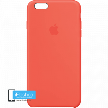 Чехол Apple Silicone Case для iPhone 6 Plus / 6s Plus Apricot