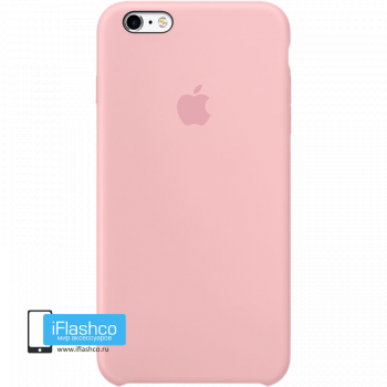 Чехол Apple Silicone Case для iPhone 6 Plus / 6s Plus Light Pink