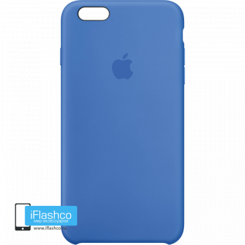 Чехол Apple Silicone Case для iPhone 6 Plus / 6s Plus Royal Blue