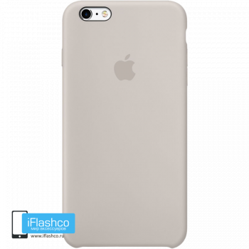 Чехол Apple Silicone Case для iPhone 6 Plus / 6s Plus Stone