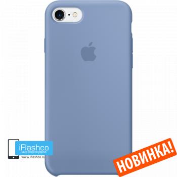 Чехол Apple Silicone Case для iPhone 7 / 8 / SE Azure