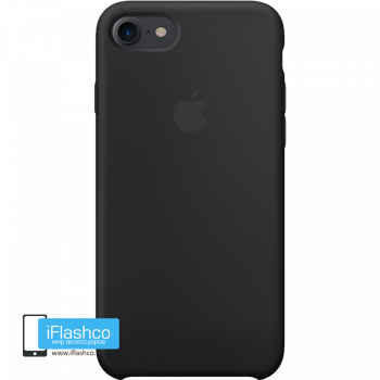 Чехол Apple Silicone Case для iPhone 7 / 8 Black