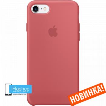 Чехол Apple Silicone Case для iPhone 7 / 8 / SE Camellia