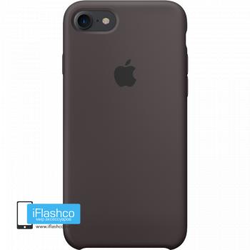 Чехол Apple Silicone Case для iPhone 7 / 8 / SE Cocoa