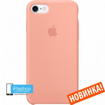 Чехол Apple Silicone Case для iPhone 7 / 8 / SE Flamingo