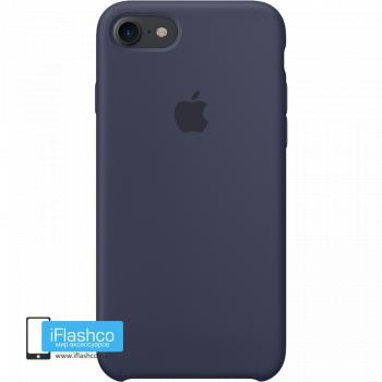 Чехол Apple Silicone Case для iPhone 7 / 8 / SE Midnight Blue