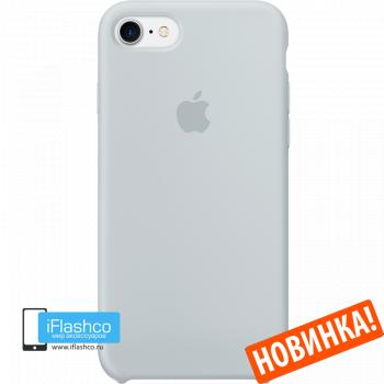 Чехол Apple Silicone Case для iPhone 7 / 8 / SE Mist Blue