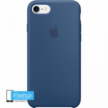Чехол Apple Silicone Case для iPhone 7 / 8 Ocean Blue