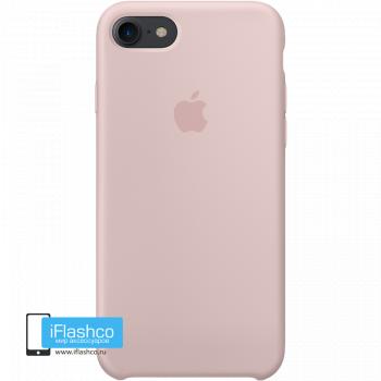 Чехол Apple Silicone Case для iPhone 7 / 8 Pink Sand