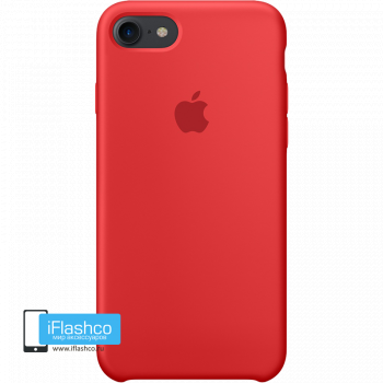Чехол Apple Silicone Case для iPhone 7 / 8 (PRODUCT)RED
