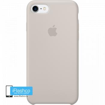 Чехол Apple Silicone Case для iPhone 7 / 8 / SE Stone