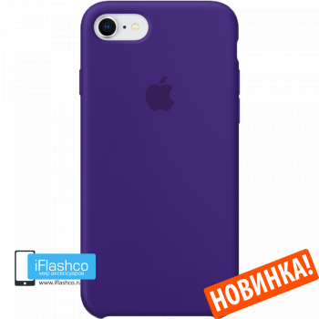 Чехол Apple Silicone Case для iPhone 7 / 8 Ultra Violet