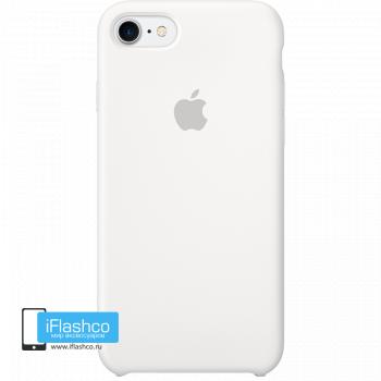 Чехол Apple Silicone Case для iPhone 7 / 8 White