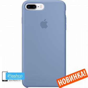 Чехол Apple Silicone Case для iPhone 7 Plus / 8 Plus Azure