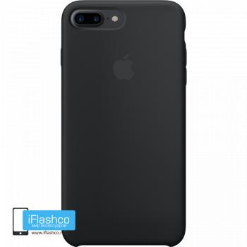 Чехол Apple Silicone Case для iPhone 7 Plus / 8 Plus Black