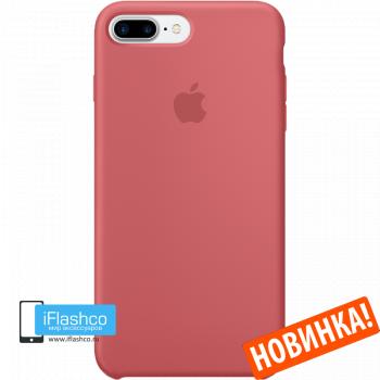 Чехол Apple Silicone Case для iPhone 7 Plus / 8 Plus Camellia