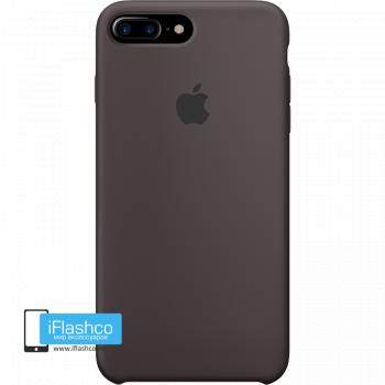 Чехол Apple Silicone Case для iPhone 7 Plus / 8 Plus Cocoa