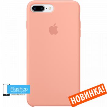 Чехол Apple Silicone Case для iPhone 7 Plus / 8 Plus Flamingo