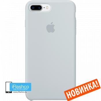 Чехол Apple Silicone Case для iPhone 7 Plus / 8 Plus Mist Blue