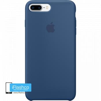 Чехол Apple Silicone Case для iPhone 7 Plus / 8 Plus Ocean Blue