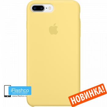 Чехол Apple Silicone Case для iPhone 7 Plus / 8 Plus Pollen