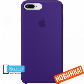 Чехол Apple Silicone Case для iPhone 7 Plus / 8 Plus Ultra Violet