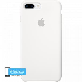 Чехол Apple Silicone Case для iPhone 7 Plus / 8 Plus White