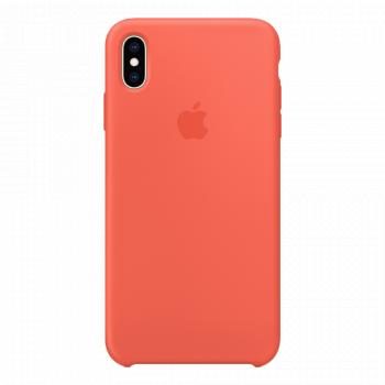 Силиконовый чехол для iPhone XS Max Nectarine (оригинал)