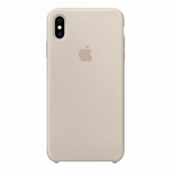Силиконовый чехол для iPhone XS Max Stone (оригинал)