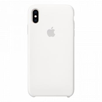 Силиконовый чехол для iPhone XS Max белый