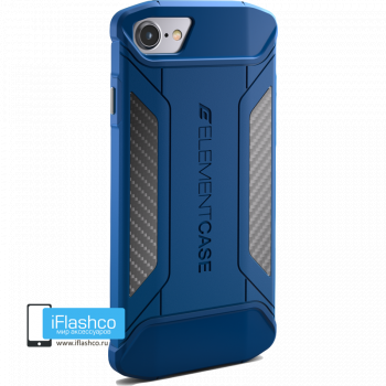 Чехол Element Case CFX Blue для iPhone 7/8/SE синий