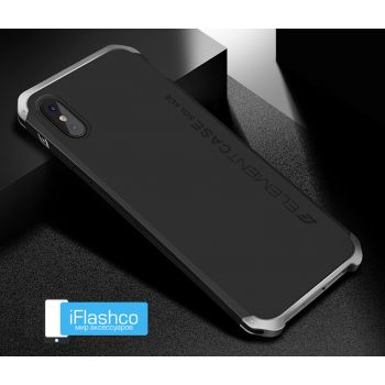 Чехол Element Case Solace Black w/Silver для iPhone X/Xs