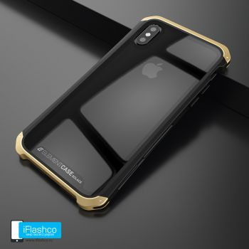 Чехол Element Case Solace Glass Black w/Gold для iPhone X/Xs