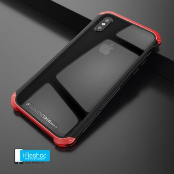 Чехол Element Case Solace Glass Black w/Red для iPhone X/Xs