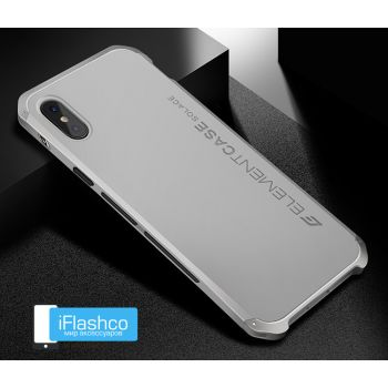 Чехол Element Case Solace Silver для iPhone X/Xs