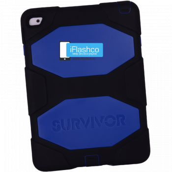 Чехол Griffin Survivor All-Terrain Black/Blue для iPad Air 2 черный с синим