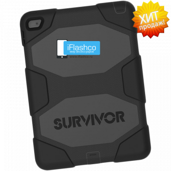 Чехол Griffin Survivor All-Terrain Black для iPad Air 2 черный