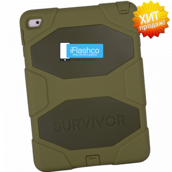 Чехол Griffin Survivor All-Terrain Camo для iPad Air 2 зеленый