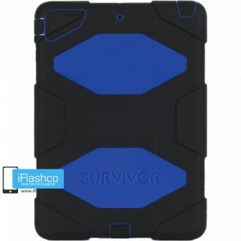 Чехол Griffin Survivor All-Terrain для iPad Air черный с синим