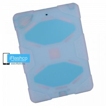 Чехол Griffin Survivor All-Terrain для iPad Air голубой прозрачный