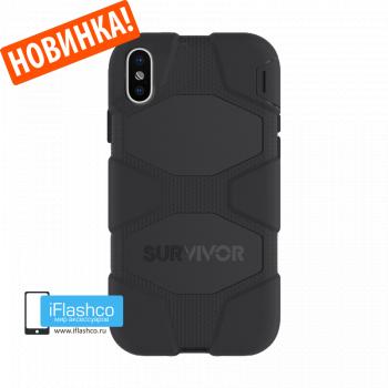 Чехол Griffin Survivor All-Terrain для iPhone X/XS Black