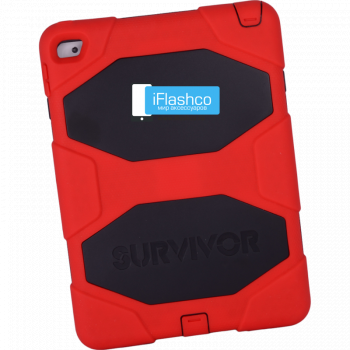 Чехол Griffin Survivor All-Terrain Red/Black для iPad Air 2 красный с черным
