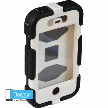 Чехол Griffin Survivor для iPhone 4 / 4S черный с белым