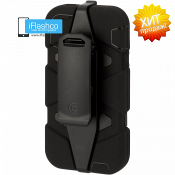 Чехол Griffin Survivor для iPhone 5 / 5S / SE черный