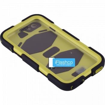 Чехол Griffin Survivor для iPhone 6 / 6s черный с желтым