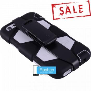 Чехол Griffin Survivor для iPhone 6 Plus / 6s Plus черный с белым