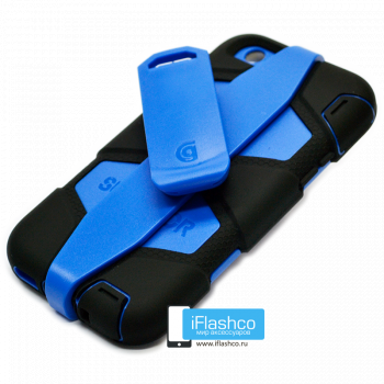 Чехол Griffin Survivor для iPhone 6 Plus / 6s Plus черный с синим