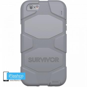 Чехол Griffin Survivor для iPhone 6 Plus / 6s Plus серый