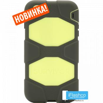 Чехол Griffin Survivor для iPhone 7 Plus / 8 Plus черный с желтым