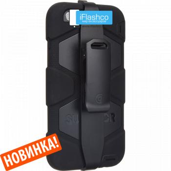 Чехол Griffin Survivor для iPhone 7 Plus / 8 Plus черный